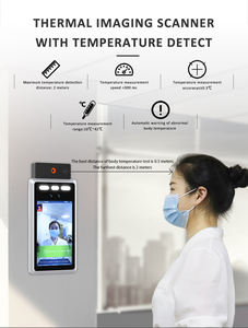 Thermalcamera Camera with Facial Wireless Door Access Control System Termo Scanner Face Recognition