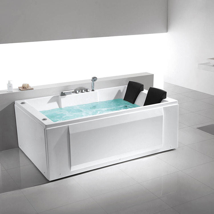 2 people adult bath tub whirlpool tub shower combo couple bathtub