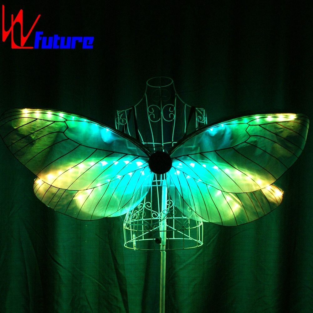 LED butterfly Wings for children, show activity butterfly costume LED Isis Wings LED Dance Props performance wear