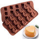 15 Holes Funny Shaped para policarbonato machine Kitchen Baking Accessories moldes de silicona para chocolate