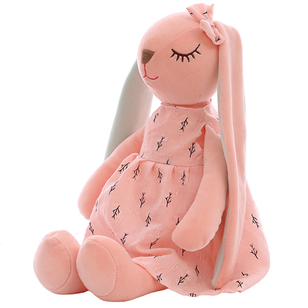 Cute Cartoon Long Ears Rabbit Doll Baby Soft Plush Toys For Children Rabbit Sleeping Mate Stuffed Plush Animal Toys Infants