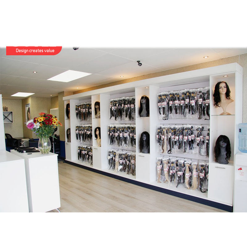 High Quality Wig Display Mannequin Head Store Display Rack Hair Extension Store Wig Shop Display Furniture For Shop Decoration