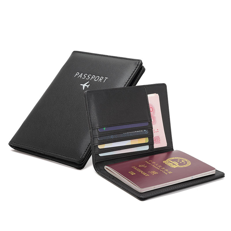MIYIN 2020 travel PU leather passport cover holder logo custom passport holder wallet sublimation rfid passport holders