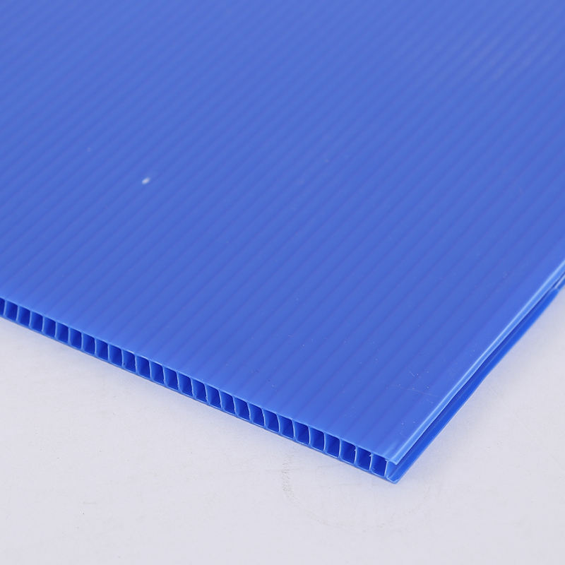 Durable customized PP corflute corrugated plastic sheet for layer pads