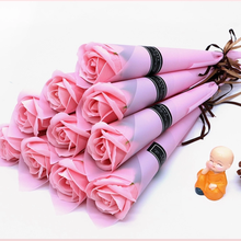 Teachers'   Day Single rose flower forever artificial rose soap flower for teachers and friends