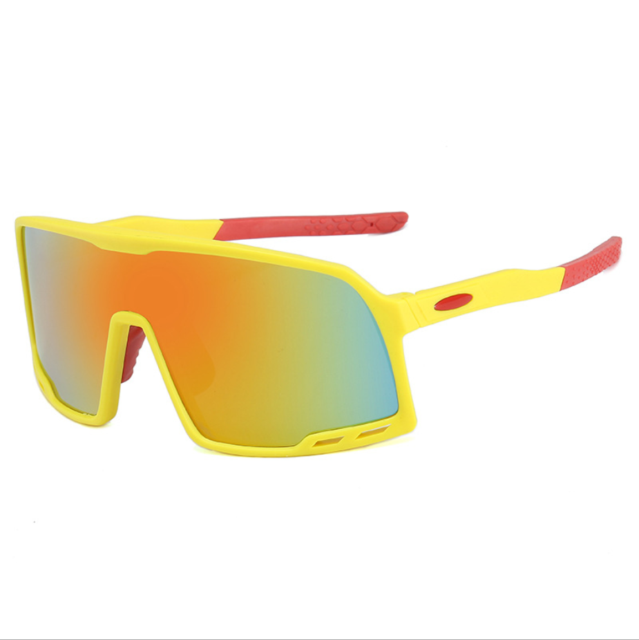 Wholesale Reflective Strain Mens Recycled Plastic Oem Sport Cycling Sunglasses Glasses