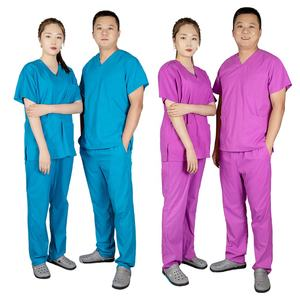Factory custom fashion nurse uniform medical uniforms scrubs