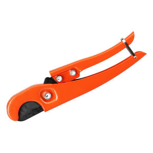PVC Pipe Cutter 32mm Aluminum Alloy Body Ratchet Scissors Tube Cutter PVC/PU/PP/PE Hose Cutting Hand Tools
