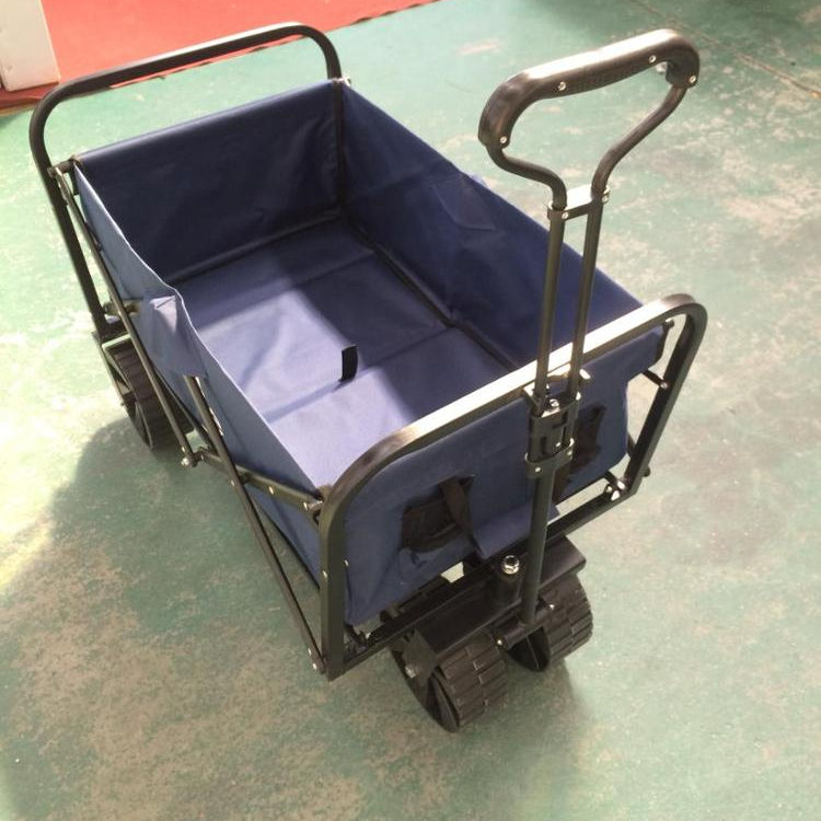 Tools Usage and Silver Color OEM folding wagon beach cart outdoor trolley