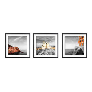 modern natural scenery and landscape building picture frames for home decor original photo to painting