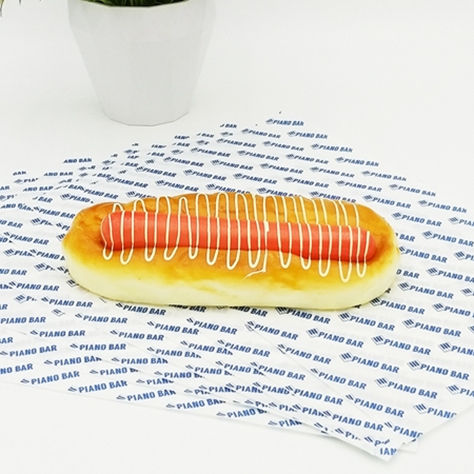 Direct Factory Price High Quality Fast Food Wrapping Paper, Greaseproof Paper in Rolls, Deli Food Wrapper and Liner