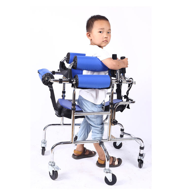 High quality hot sale children stand stainless steel walker hemiplegia lower limb training walker