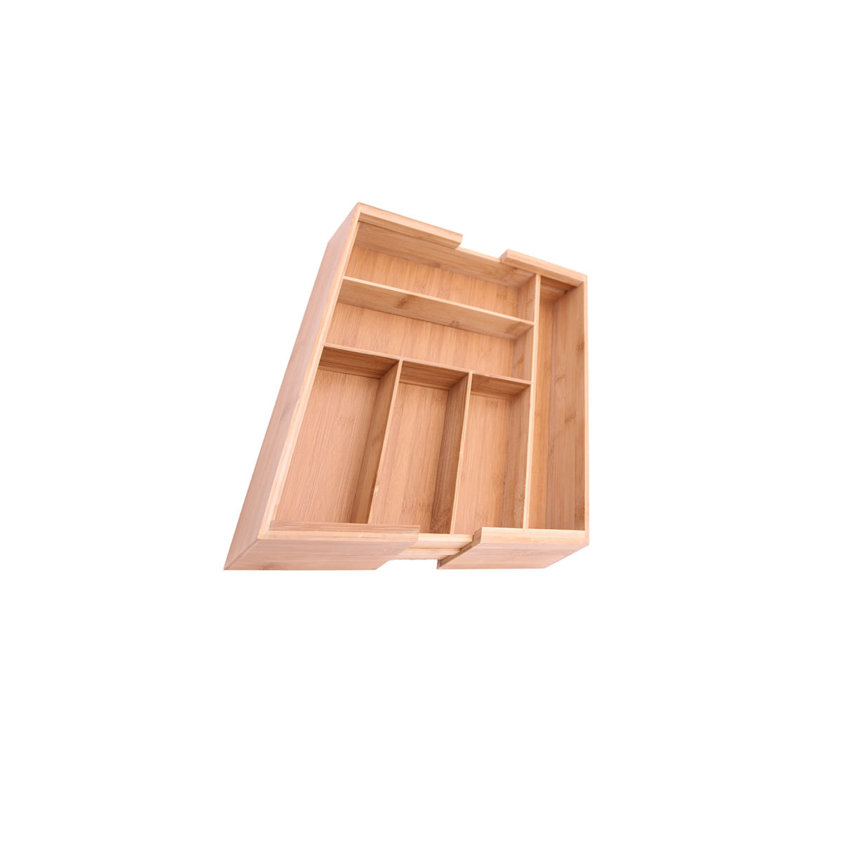 Bamboo double pull custom baby clothes storage clothes storage organizer clothes box storage