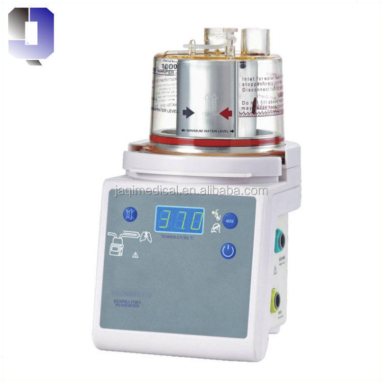 Medical Servo-control Respiratory humidifier for mechanical ventilation or pressure breathing systems