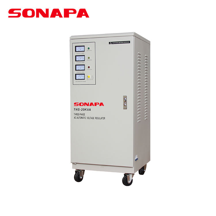 20Kw 3 Phase Meter Display Electrical Ac Automatic Voltage Regulator Stabilizer For Lift Elevator