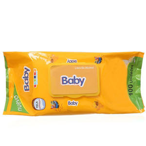Private Label Baby Wet Makeup Remover Pure Water Face Cleaning Wipes Tissue Alcohol Free Baby Wipe Wet