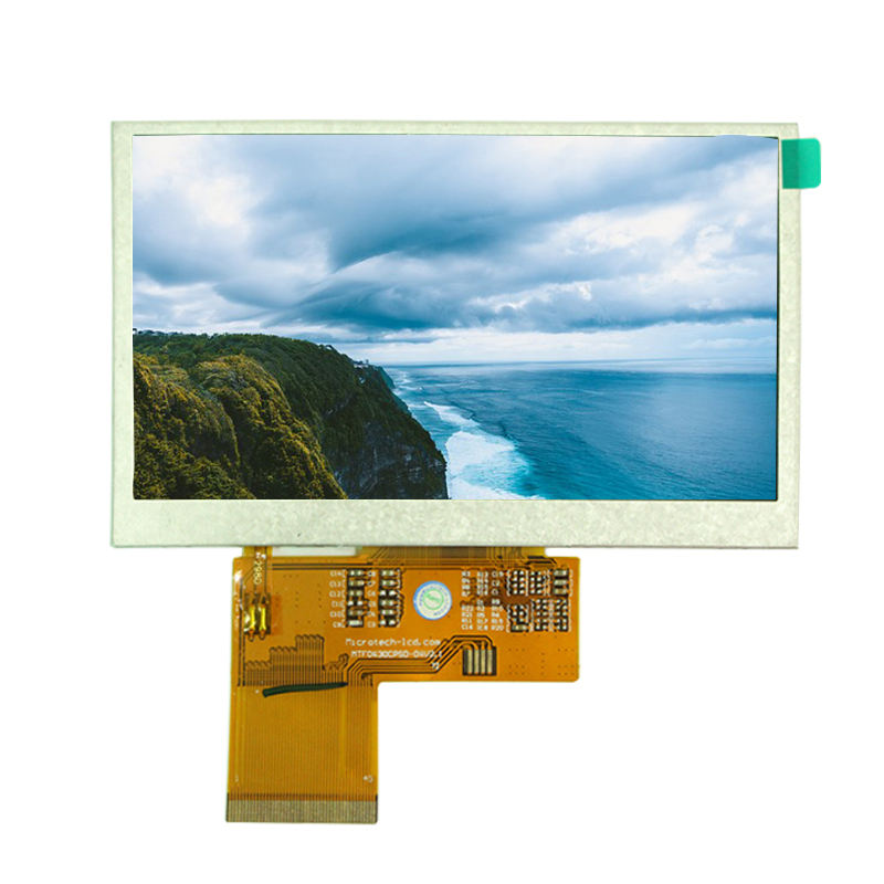 "IPS Wide Temperature 4.3"" 480X272 TFT LCD Display"