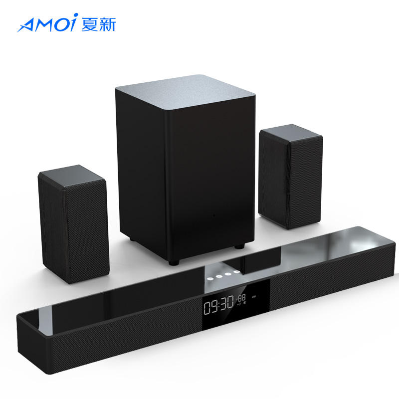 Speaker Suara Surround Sistem Home Theater Baru 5.1 dengan Speaker Satelit Belakang