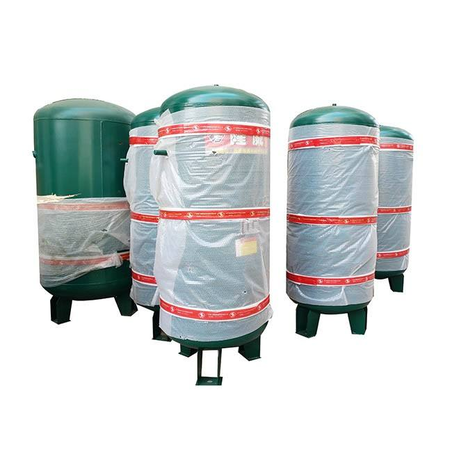 High Pressure Vertical Air Compressor Parts Air Storage Tank Air Receiver Gas Tank