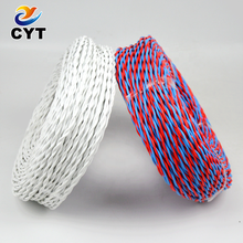 CE Standard Low Price 2 Core 0.75mm PVC Insulated Electric Twisted Pair Copper Cable