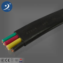 061kv rubber cable elevator flat travelling cable and flat wire power cord cable
