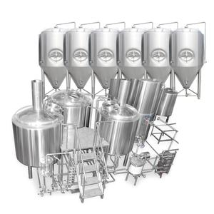 1000L Beer Brew Kettle Micro Brewery Equipment Complete Turnkey Project