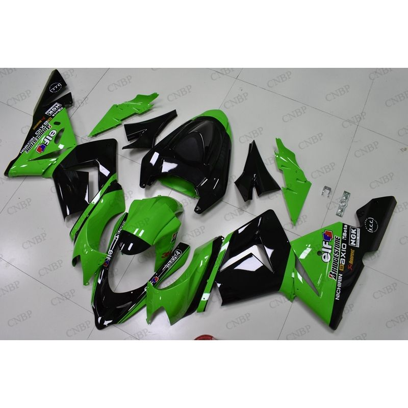 Upper Front Fairing Nose Cowl fit for KAWASAKI Ninja ZX10R 04-05 Unpainted ABS