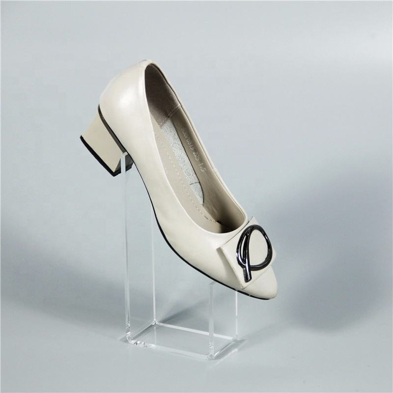 ~6 Women/'s Clear Acrylic Plastic Sandal Lady Shoes Display Stand Inserts