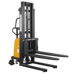 High quality semi-electric pallet stacker forklift for sale four point counterbalanced 2000kg semi electric