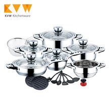 23PCS STAINLESS STEEL AMC COOKWARE PRICE