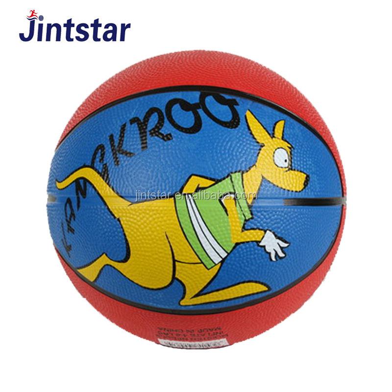 """En gros personnalisé 2 """"enfants mini taille 3 balles de basket-ball avec logo personnalisé"""