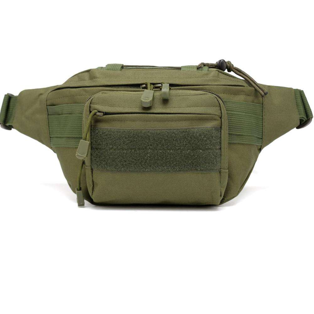 2020 Hot Sale Waterproof Military Tactical Waist Bag Molle Camo Fanny Hip Pack Bag