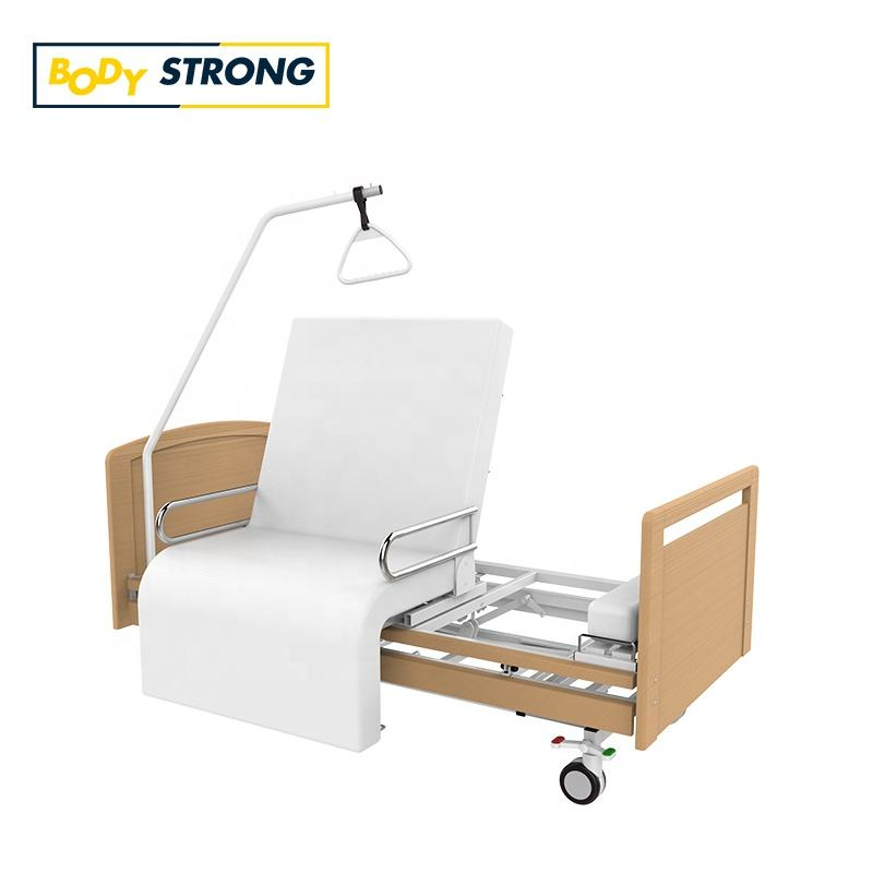 Modern Medical Equipments Multi-Function Rotating Bed