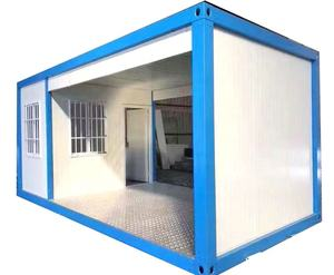 Easy and fast building 40ft shipping container frames cheap house prefab house container