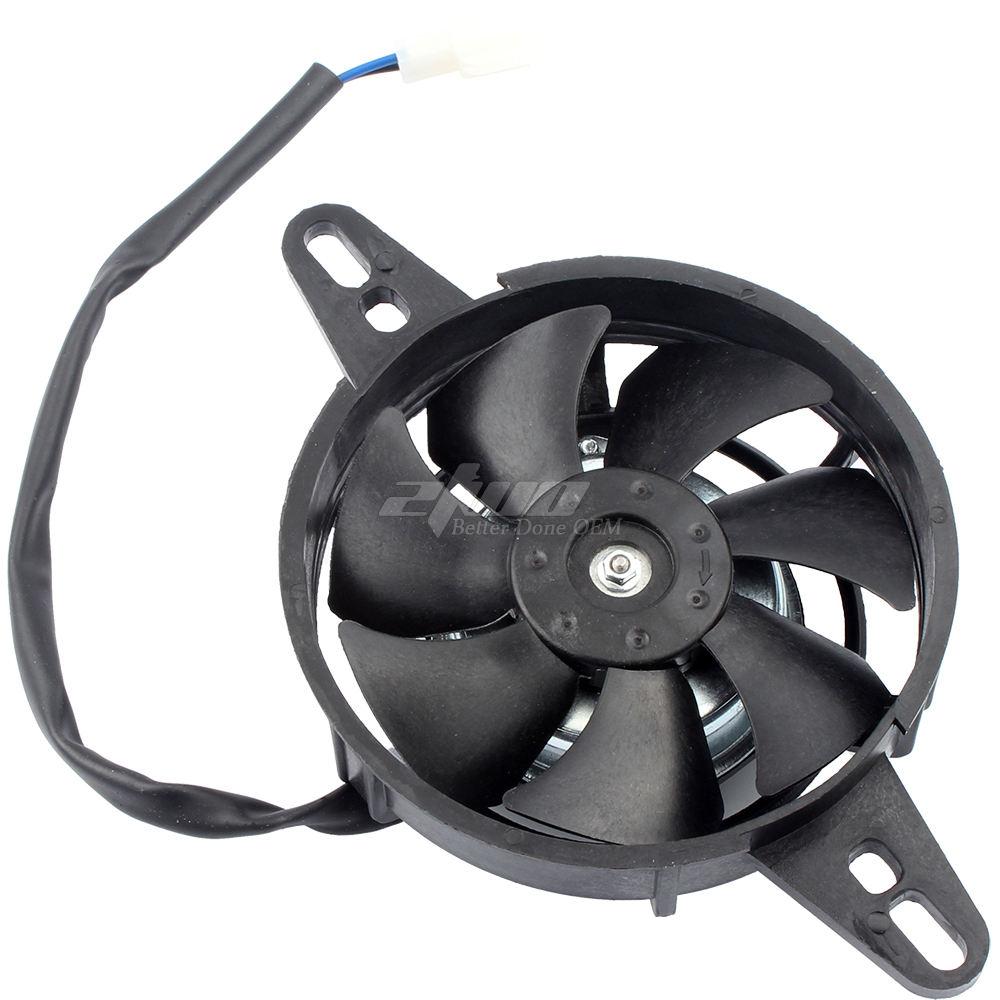 motore elettrico Ventola di raffreddamento Radiatore moto ATV kart a quattro ruote 150-250cc