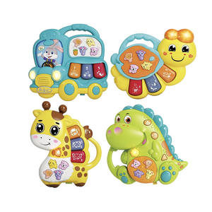 Animal cartoon music toy piano toys electronic organ