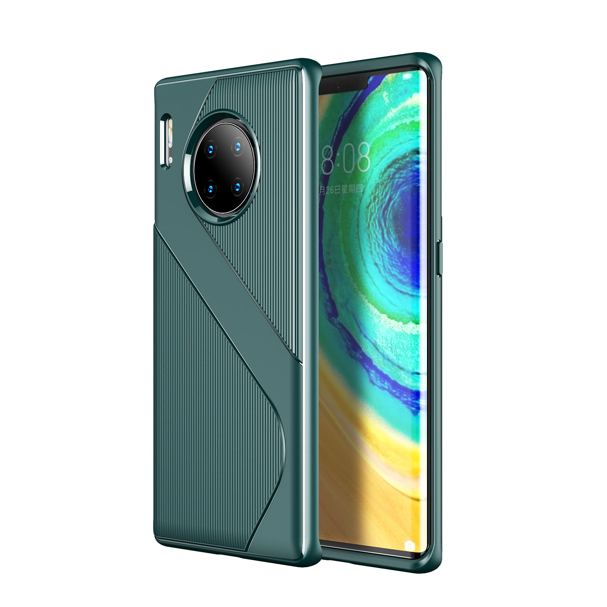 Laudtec Accessoire Telephone Portable Slim Thin Soft TPU Protective Cover Bumper Case for Huawei Mate 30 Pro