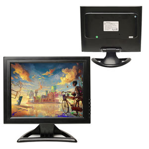 4:3 Square Pc 15 Inch Touch Screen Av Input Lcd Computer Monitor