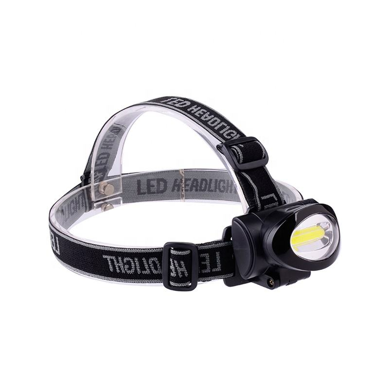 Bulk Head Mounted LED Light Flashlight Headlight For Hiking Running
