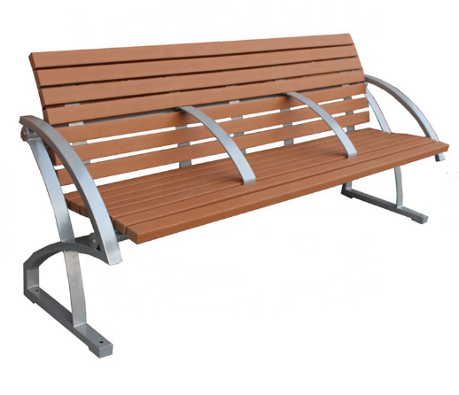 Best price high quality custom outdoor park metal stainless steel bench