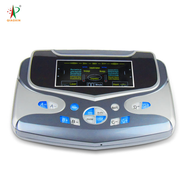 Guangzhou factory outlet multifunction tens machine ems simulator with laser&ultrasonic therapy