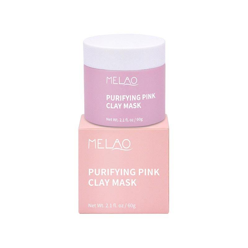 Private Label Australian OEM Face Whitening Vitamin C Facial Organic Natural Rose Mud Purifying Pink Clay Mask