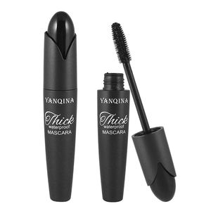 YANQINAN 3D Black Curling Mascara Makeup Quick Dry Thick Extension Lengthening Eyelashes Waterproof Cosmetics