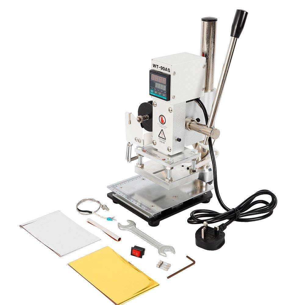 Hot Foil Stamping Machine Digital Bronzing Machine for Foil Logo Embossing PVC Leather PU and Paper Stamping