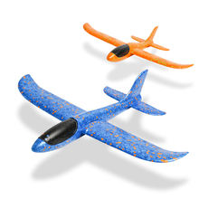 Kids EPP Hang Glider 3D Hand Throwing Air Flying Toy Model Foam Plane  flying skywing glider airplanes