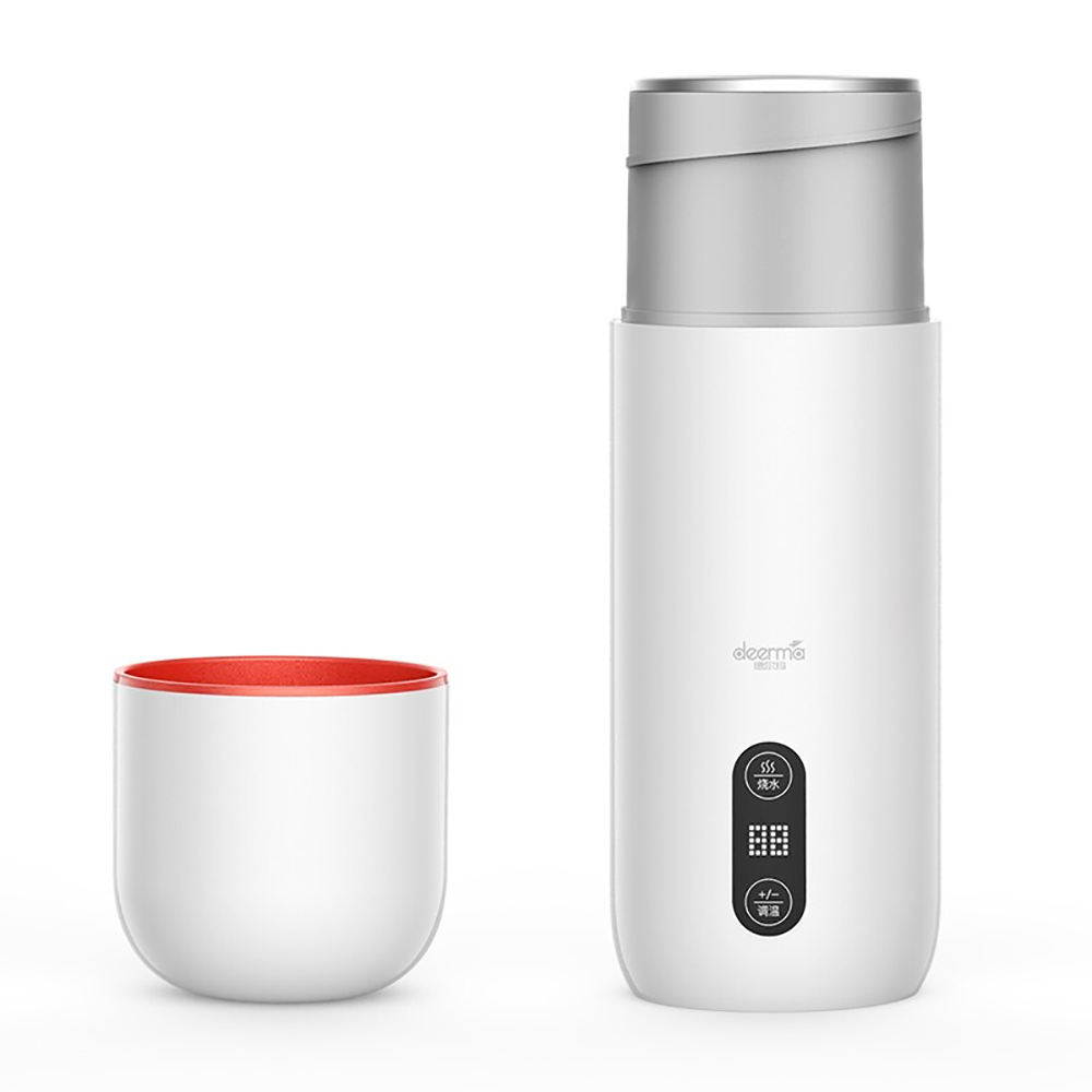 Deerma Portable Electric Kettle Thermal Cup Coffee Travel Water Boiler Temperature Control Smart Water Kettle