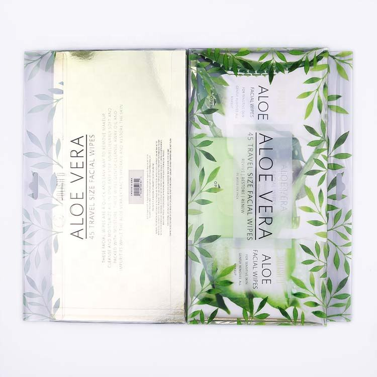 Aloe Vera Cleansing Moisture Removal Oil 45 Travel Size Facial Wipes Wet Wipes