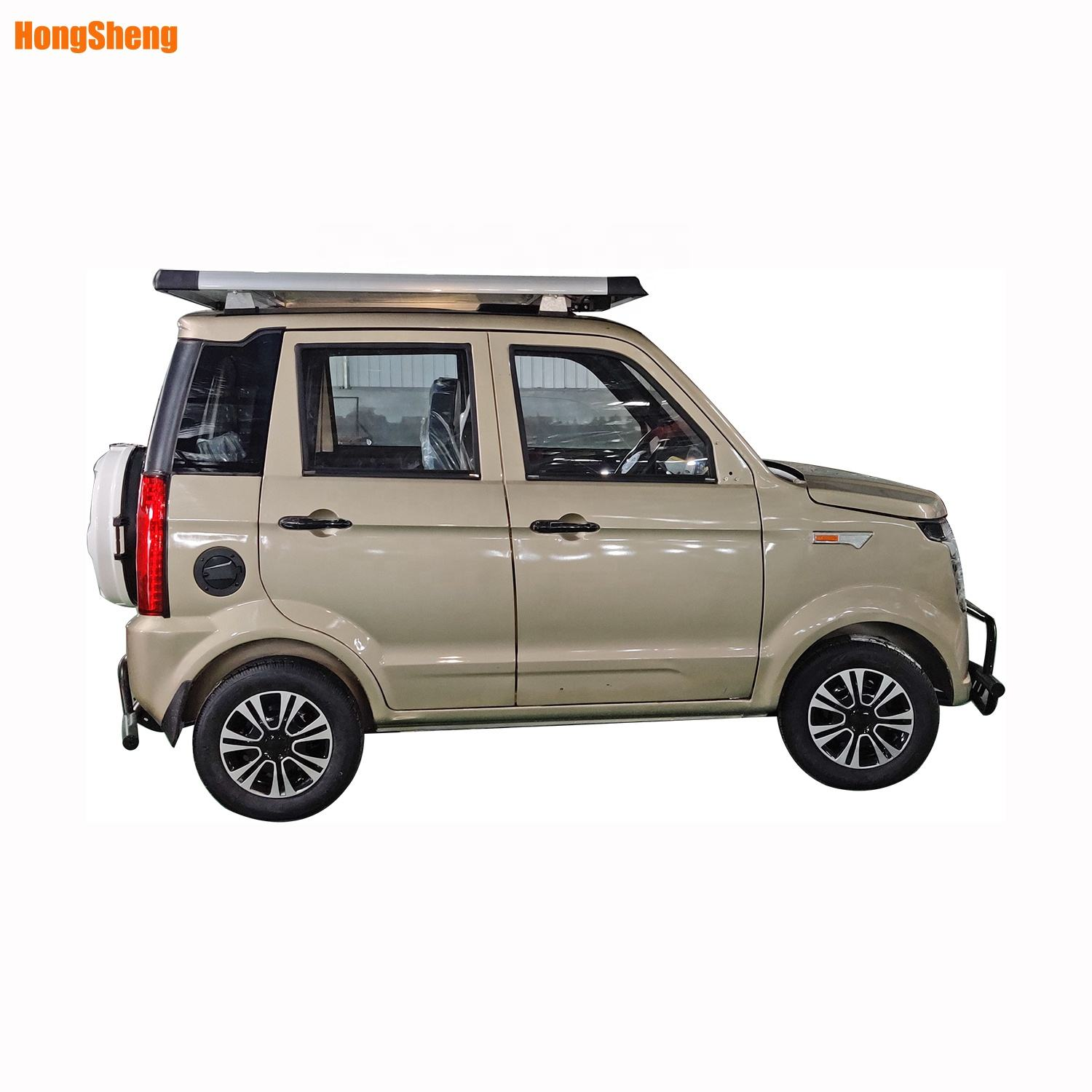 four wheel electric car for 4-6 people electric SUV