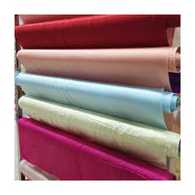 Wholesale 19 mm natural Silk satin 100% pure mulberry silk fabric