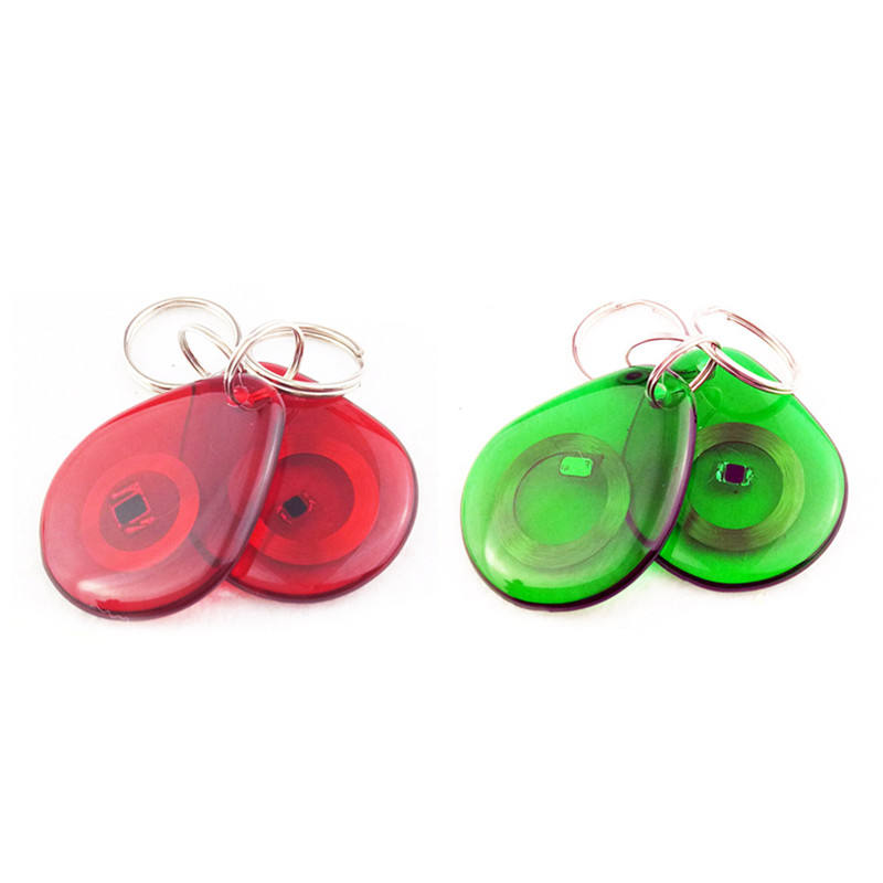 125 KHZ RFID Keyfob EM 4305 Keychain RFID Key Tag for hotel Access Control lock key